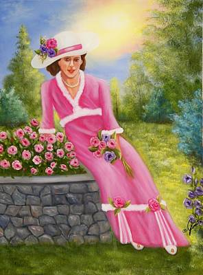 Elegant Lady Poster