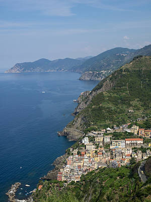 Elevated View Of The Riomaggiore, La Poster by Panoramic Images
