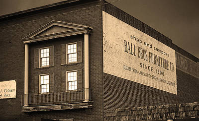 Elizabethton Tennessee - Ghost Mural 2008 Poster by Frank Romeo