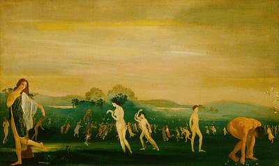 Elysian Fields Poster by Arthur Bowen Davies
