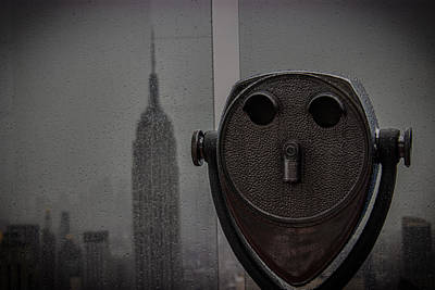 Empire State View Poster