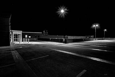 Empty Spaces Poster by Bob Orsillo