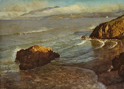 Entrance To The Golden Gate Poster by Albert Bierstadt