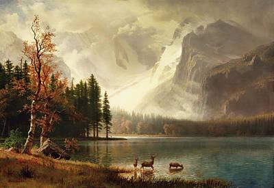 Estes Park, Colorado, Whyte's Lake Poster