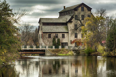 Fall At The Mill Poster by Jeffrey Ewig