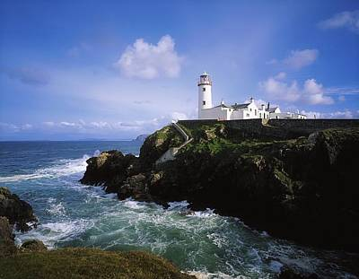 Fanad Lighthouse, Co Donegal, Ireland Poster by The Irish Image Collection