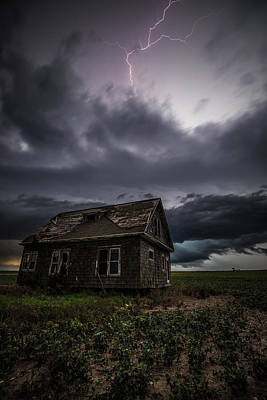 Poster featuring the photograph Fear by Aaron J Groen