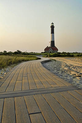 Fire Island Lighthouse Poster by Alexander Mendoza