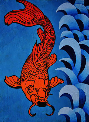 Fish 2 Poster by Stephen Humphries