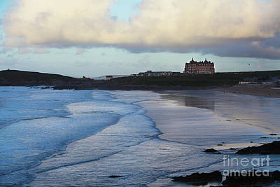 Poster featuring the photograph Fistral Beach by Nicholas Burningham