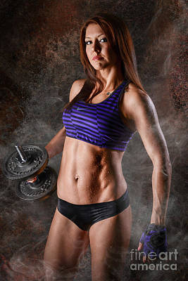 Fitness Motivation Poster by Jt PhotoDesign