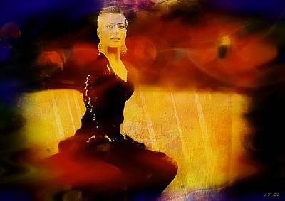 Flamenco Poster by Jean Francois Gil