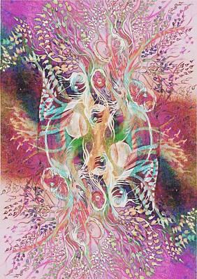Floral Spring- Poster by Sandrine Kespi