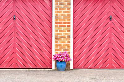 Flower Pot Poster by Tom Gowanlock