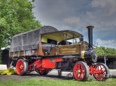 Foden Steam Wagon Poster