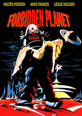 Forbidden Planet, Robby The Robot Poster by Everett