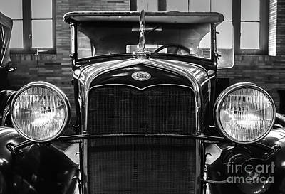 Ford Classic Poster by Colleen Kammerer
