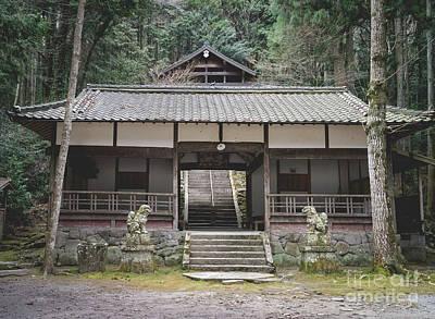 Forrest Shrine, Japan Poster
