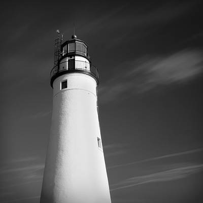 Poster featuring the photograph Fort Gratiot Lighthouse by Gordon Dean II