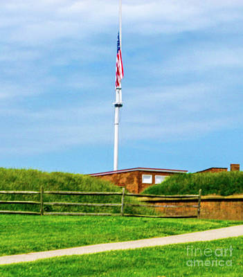Fort Mchenry Baltimore Poster by William Rogers
