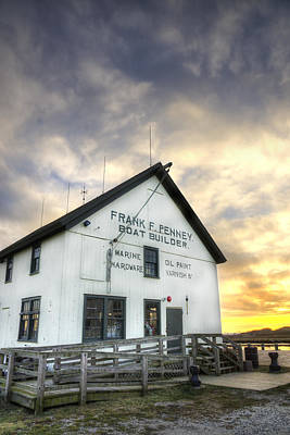 Frank F. Penney Boat Builder Poster