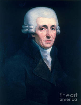 Franz Joseph Haydn, Austrian Composer Poster by Science Source