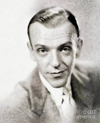 Fred Astaire, Legend By Js Poster