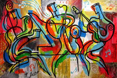 Free Jazz Poster by Leon Zernitsky