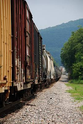 Freight Train Poster