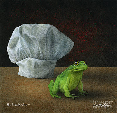 French Chef... Poster