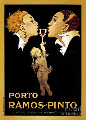 French Vintage Poster Restored Poster