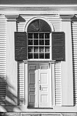 Front Door Old Country Church In Maine Poster by Keith Webber Jr