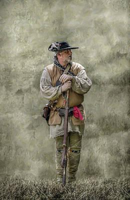 Frontiersman Portrait Poster by Randy Steele