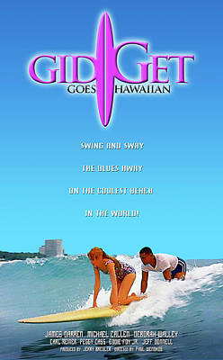 Gidget Goes Hawaiian Poster by Ron Regalado