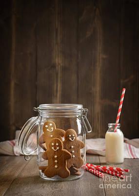 Gingerbread Jar Poster by Amanda Elwell