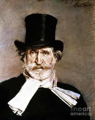 Giuseppe Verdi (1813-1901) Poster by Granger
