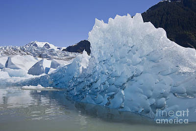 Glacial Ice Poster by John Hyde - Printscapes