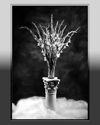 Poster featuring the photograph Gladiolas by Linda Olsen