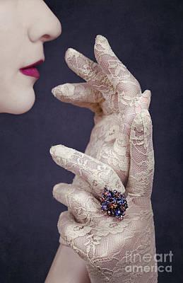 Glamour Girl Poster by Svetlana Sewell