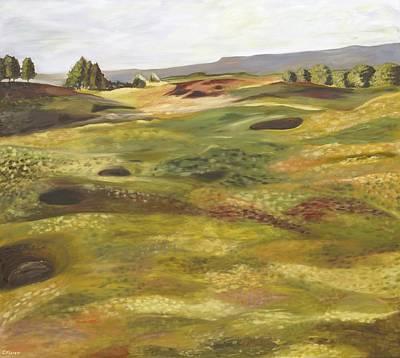 Gleneagles Queens Course Poster