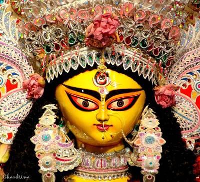 Goddess Durga Poster by Chandrima Dhar
