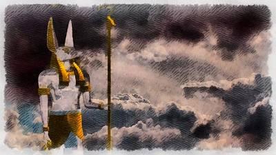 Gods Of Egypt - Anubis Poster