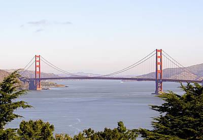 Golden Gate Bridge In San Francisco Poster by Daniel Hagerman
