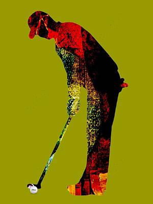 Golf Collection Poster by Marvin Blaine