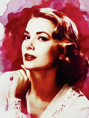 Grace Kelly, Hollywood Legend Poster