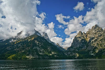 Grand Tetons Poster by Brent Parks