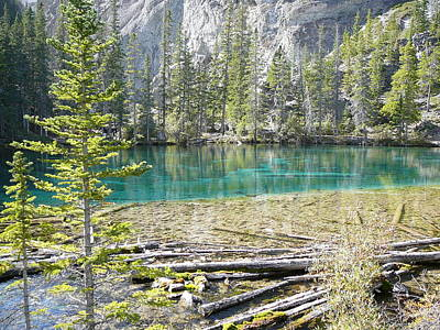 Grassi Lakes Poster by Mark Lehar