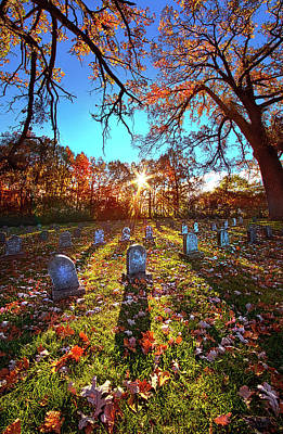Grave Matters Poster by Phil Koch