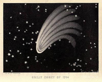 Great Comet Of 1744 Poster