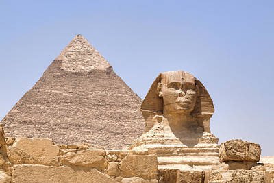 Great Sphinx Of Giza - Egypt Poster